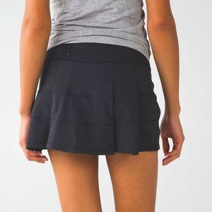 Lululemon Pace Rival Skirt - Black - 6